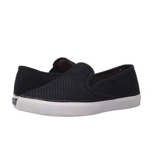 Sperry Perforated Slip On Sneaker